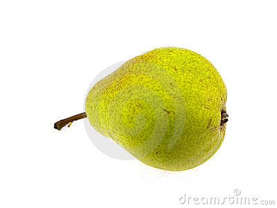 Juicy yellow pear