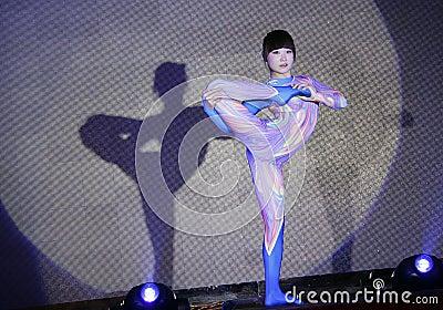 Jujitsu performance Editorial Image
