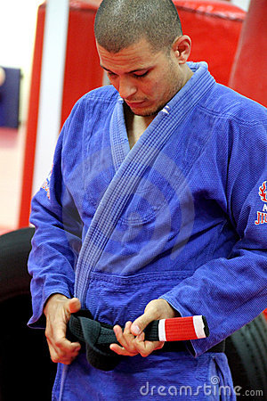 Jujitsu Training Editorial Image