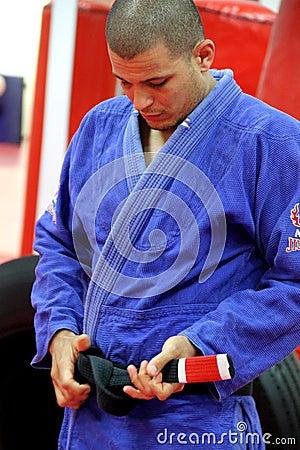 Jujitsu Training Editorial Image