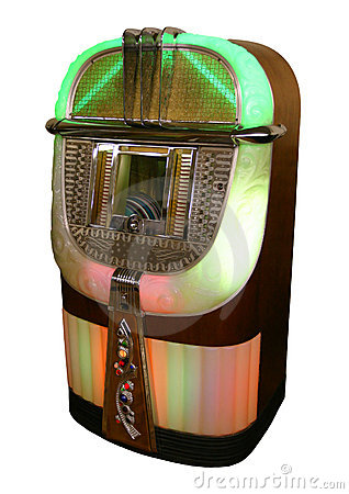 Juke box from the 40s