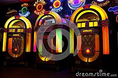 Jukebox sale Editorial Photography