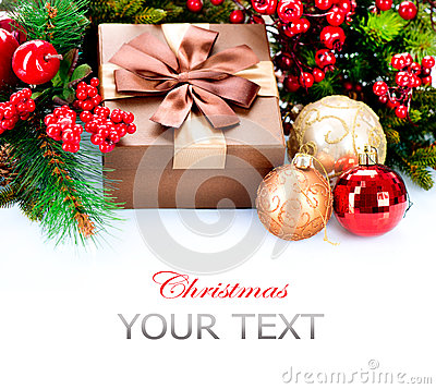 Julgåva och garneringar