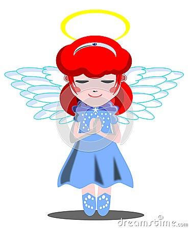 Julia as an angel
