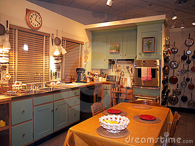 Julia Child s Kitchen at the Smithsonian Editorial Stock Image