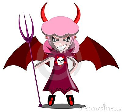 Free Julia The Devil Royalty Free Stock Images - 21041859