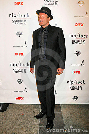 Julian McMahon at the Nip-Tuck Season 5 Premiere Screening. Paramount Studios, Hollywood, CA. 10-20-07 Editorial Photography
