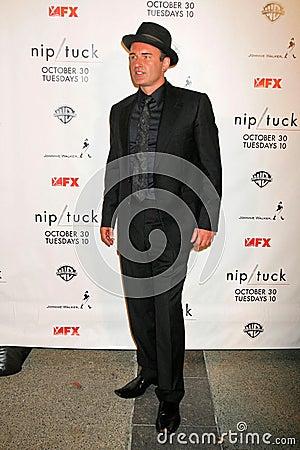 Julian McMahon at the Nip-Tuck Season 5 Premiere Screening. Paramount Studios, Hollywood, CA. 10-20-07 Editorial Photography