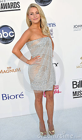 Julianne Hough arrives at the 2012 Billboard Awards Editorial Stock Photo