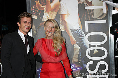 Julianne Hough, Kenny Wormald Editorial Stock Image