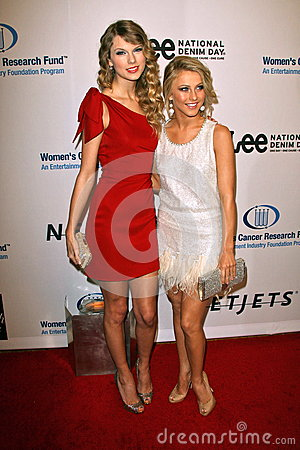 Julianne Hough,Taylor Swift Editorial Stock Image