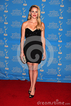 Julie Marie Berman arrives at the 2012 Daytime Creative Emmy Awards Editorial Photo