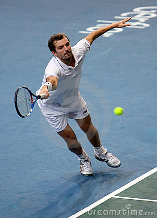 Julien BENNETEAU (FRA) at BNP Masters 2009 Editorial Image