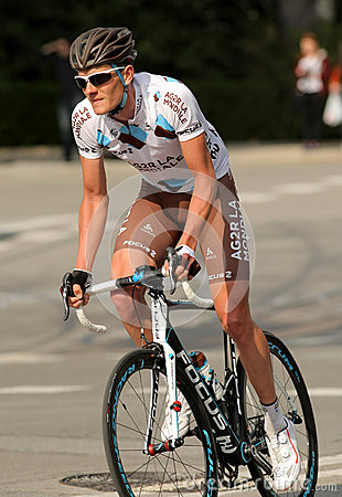 Julien Berard of Ag2r La Mondiale Editorial Stock Image