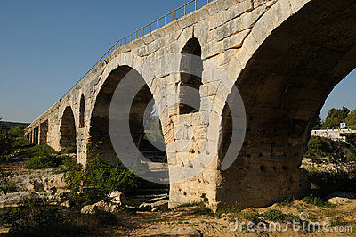 Julien bridge in Bonnieux in Provence