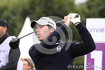 Julien Guerrier, Vivendi golf cup, sept 2010 Editorial Stock Image