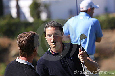 Julien Quesne Andalucia Golf Open, Marbella Editorial Image