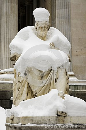 Julius Ceasar sculpture