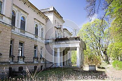 Juliusz Heinzl s Palace in Lagiewniki, Lodz