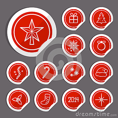 Julklistermärkear