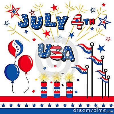 July 4th, USA