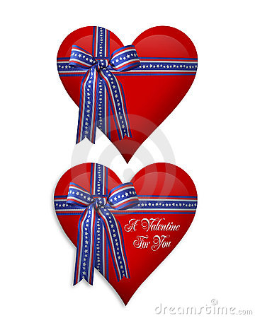 July 4Th and Valentine hearts