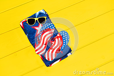 July fourth objects