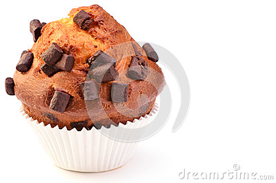 Jumbo chocolate chunk muffin