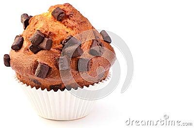 Jumbo chocolate chunk muffin