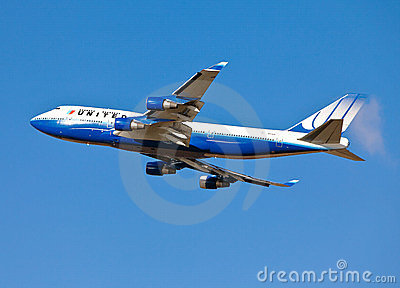 Jumbo jet Editorial Stock Image