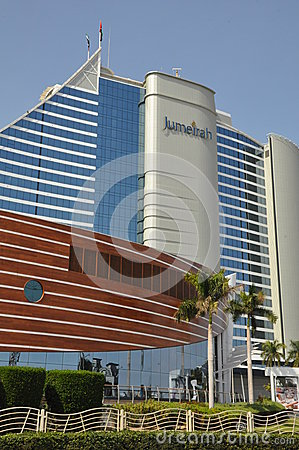 Jumeirah beach hotel in dubai uae editorial image image for The sail hotel dubai