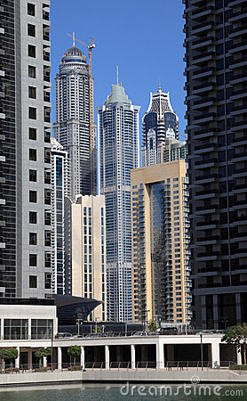 Jumeirah Lakes Towers in Dubai