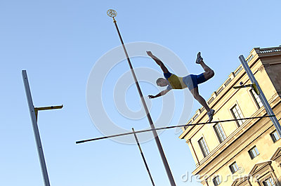 Jump & Fly event in Munich, Germany Editorial Photography