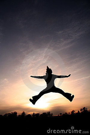 Free Jump For Joy Stock Photography - 1233622