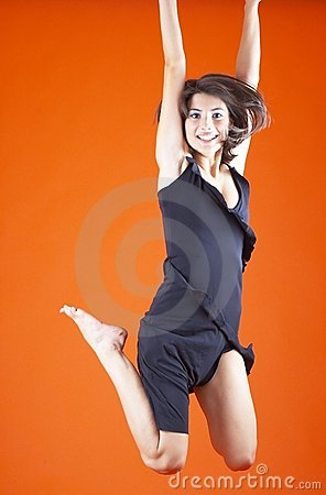 Free Jump For Joy Royalty Free Stock Images - 1586859