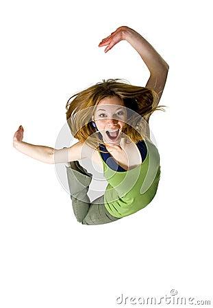 Free Jump For Joy Stock Image - 1938801