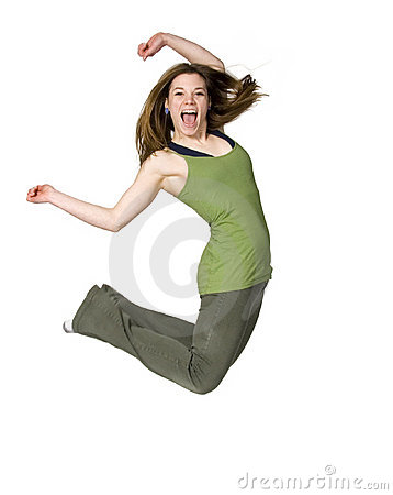 Free Jump For Joy Stock Photography - 1938822