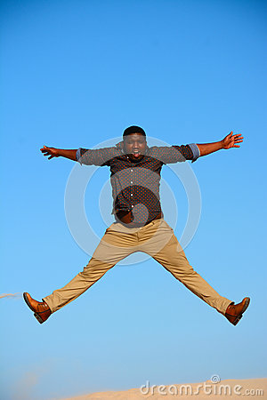 jump for joy royalty free stock images image 32678049