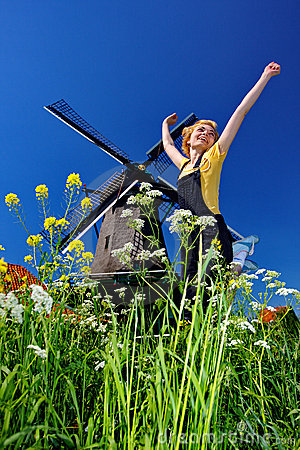 Free Jump Of Freedom Stock Photography - 5179872