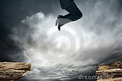 Jump over the obstacle