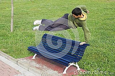 Jump parkour