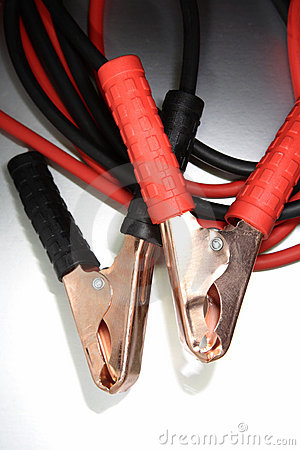 Jumper cable leads/clamps