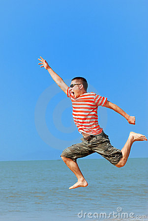 Free Jumping Royalty Free Stock Photography - 9222637