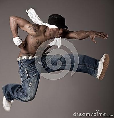 Free Jumping Dance Royalty Free Stock Image - 12268706
