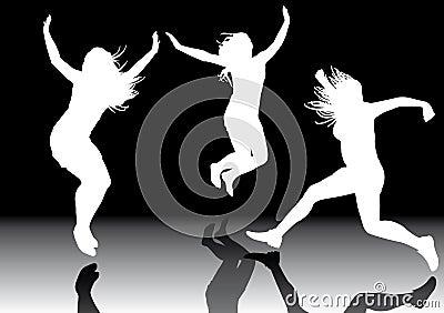 Jumping girls 3