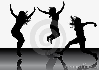 Jumping girls 6