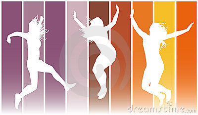 Jumping girls 7