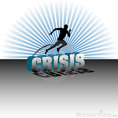 Jumping over the crisis