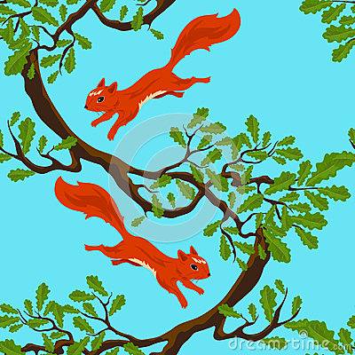 Jumping squirrels