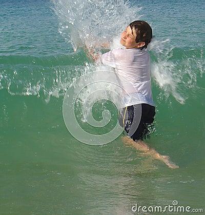 Jumping waves